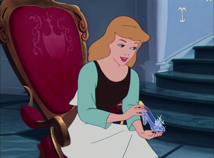 "Cinderella is a woman who lives as a servant in her own home, and who is forced to do all the necessary house chores in a big-ass house that probably measures about 2,000 square feet. TBH, Cinderella is so far removed from the world, she probably thinks ""feminism"" is just a new brand of detergent.Her only chance at dignified survival is asking her fairy godmother for a pair of heels and a nice dress so she can go to the ball and find some rich guy who can rescue her from her miserable life. And, since Cinderella is pretty (yay!), she gets the rich guy (a prince, no less) to notice her, even though she has to leave before midnight so that no one suspects that she's actually so poor that her best friends are a bunch of rats. In the end, everything is resolved: There's nothing like running away with a rich guy you just met for, like, 15 minutes, and who (although he can't even remember your face) has a fixation on your feet to pull you out of poverty! Moral of the story: No feminism. Fetishism."