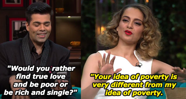 When Kangana Ranaut's savagery was relentless.