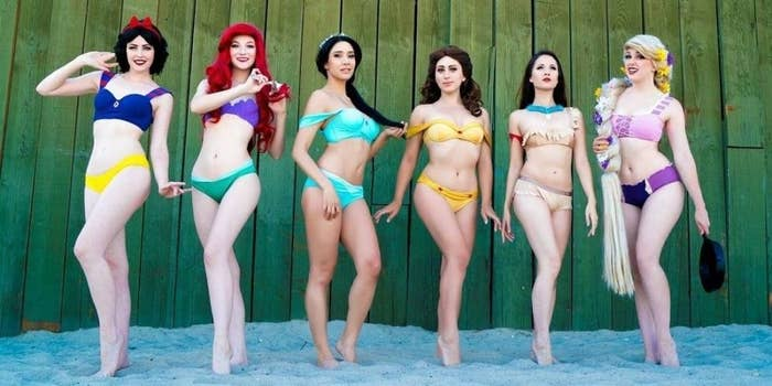 e4b69c5c5f Then get ready for Enchanted Bikinis, a swimwear line inspired by your fave  magical princesses.