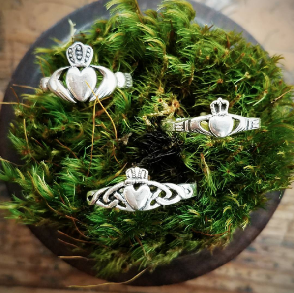 You probably own a claddagh ring, and maybe a pair of earrings to match.