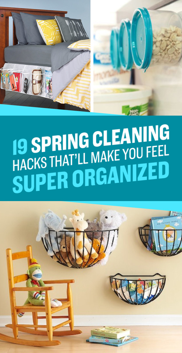 19 No-Brainer Hacks That'll Make Your Home Really Organized