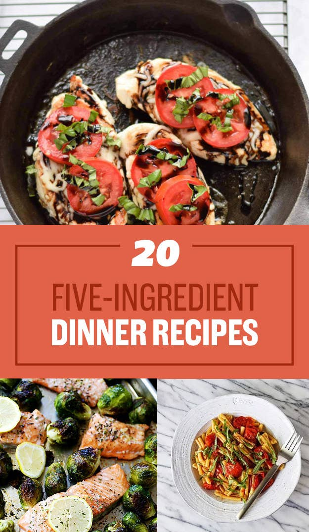 20 smart five ingredient dinner ideas share on facebook share forumfinder Gallery