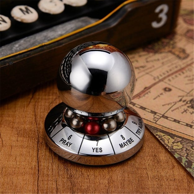 Or this decision maker so perfectly designed it'll look great on your desk.