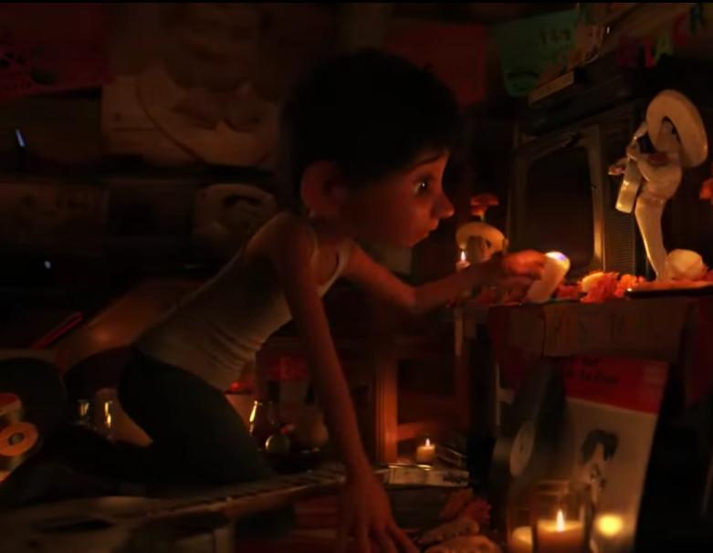 El protagonista, Miguel, es un niño mexicano de una comunidad rural.