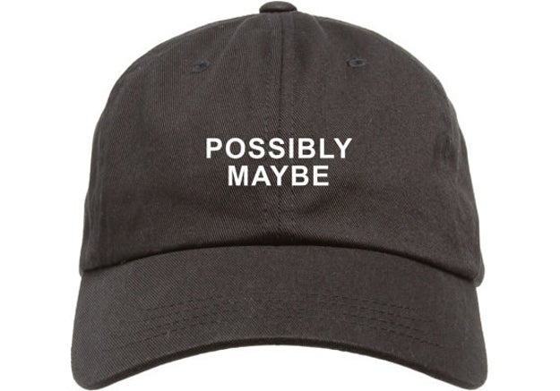 This hat that might have the answer to whatever anyone asks you.