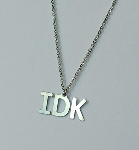 This necklace that basically sums up your life.
