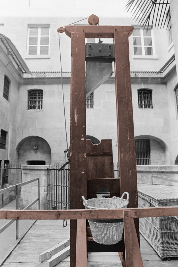Almost as many people were killed by guillotine in Nazi Germany as in the French Revolution.