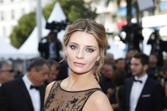 Mischa Barton at the 69th Cannes film festival in southern France.