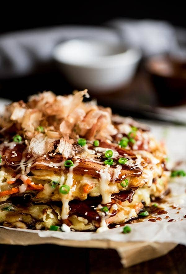 18 classic japanese dishes you can make at home what is it a savory pancake made with cabbage protein and other toppings forumfinder Choice Image