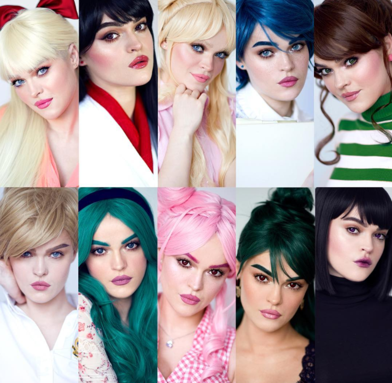 """This Makeup Genius Turned Herself Into All The Sailor Scouts From """"Sailor Moon"""" And We're Very Impressed"""