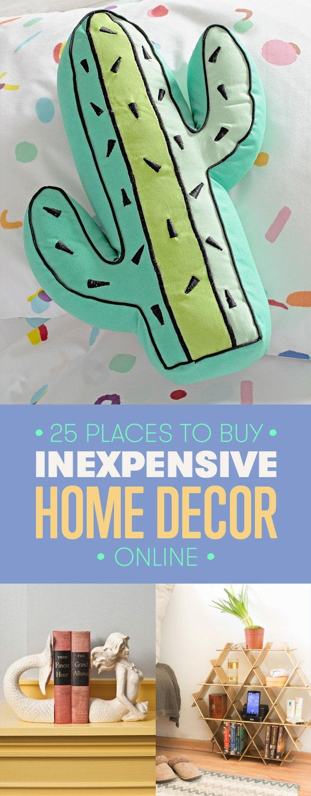 25 cheap places to shop for home decor online