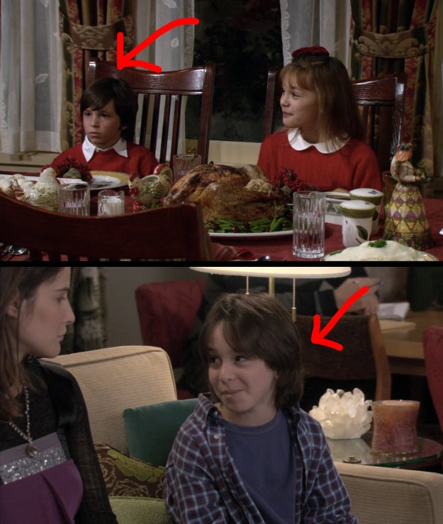 """The kid who played Ted's nephew in """"How Lily Stole Christmas"""" also played Barney's fake son, Grant, in """"The Stinsons."""""""