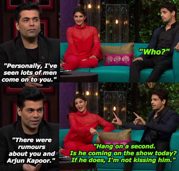 And when his surprise visits were a cause for concern for other guests on the show.