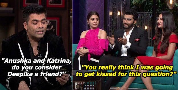When he wanted Karan to be sensible.