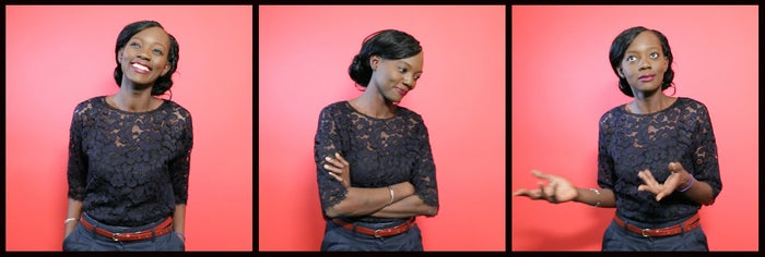 Rama Yade at the BuzzFeed News office in Paris.