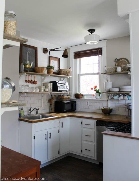 19 Increíbles transformaciones de cocinas que amarás