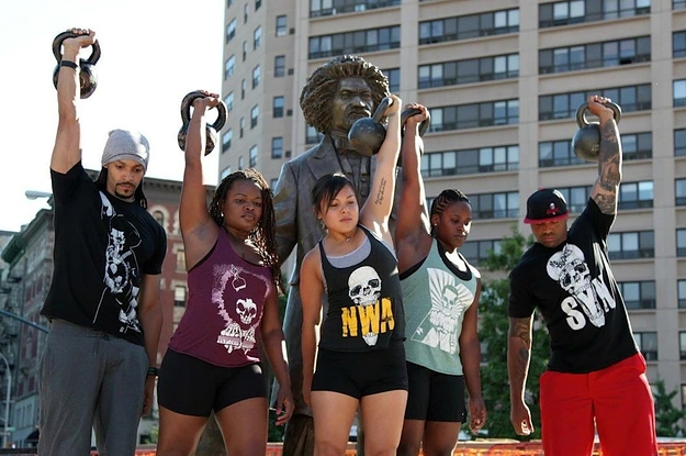 AfroBrutality Is Bringing Racial Diversity And Radical Inclusivity To Fitness