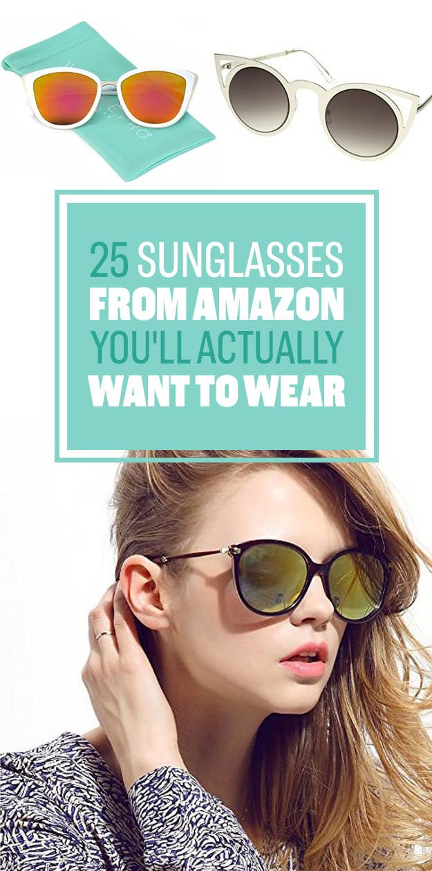 5d99dabd1c 25 Sunglasses You Can Get On Amazon That You ll Actually Want To Wear