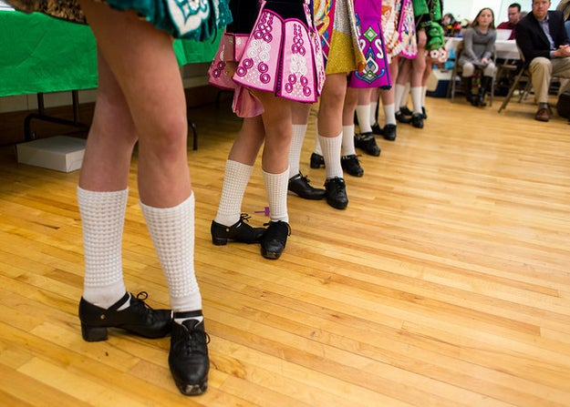 You or someone in your family took Irish step dancing classes.
