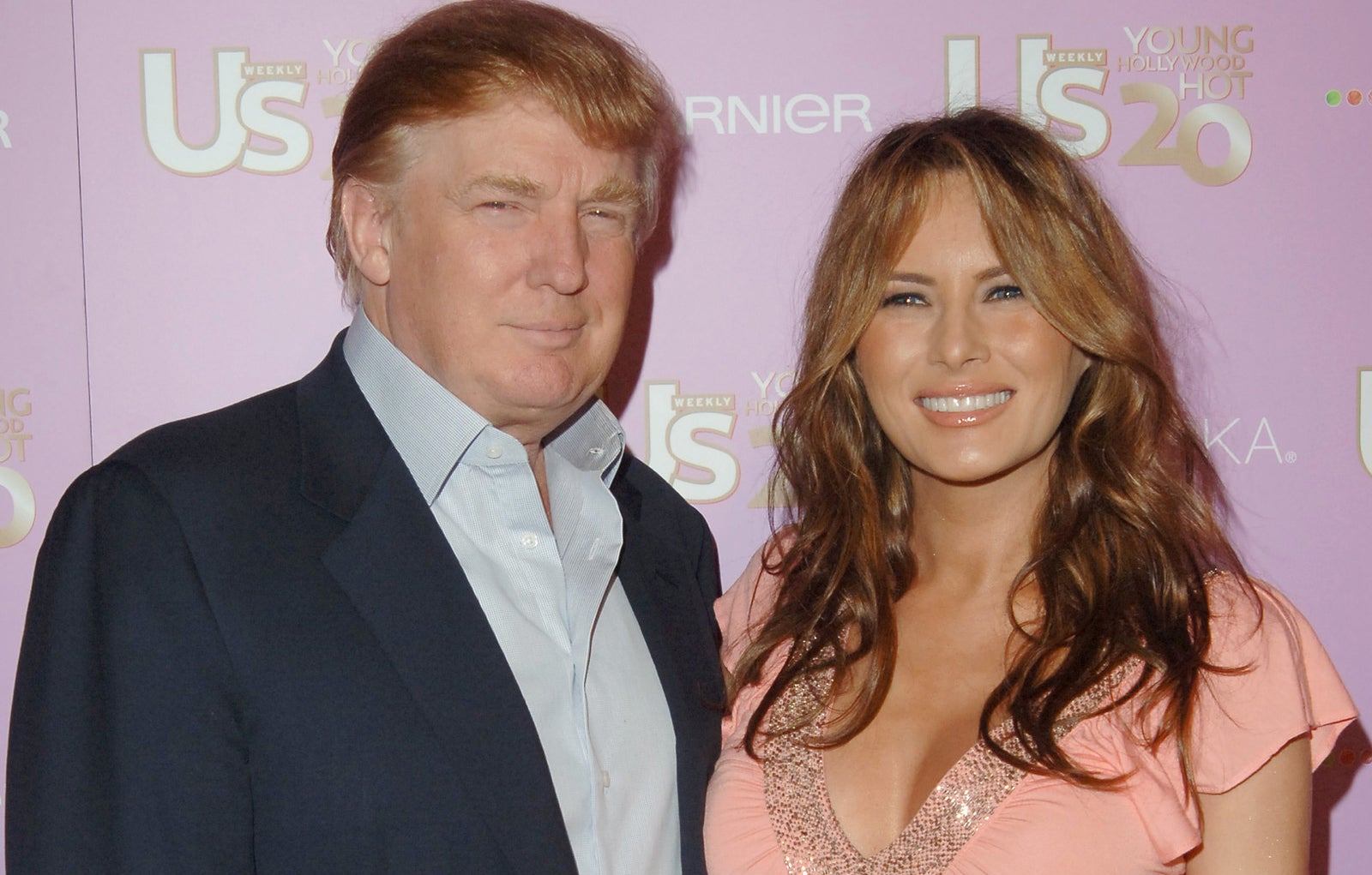 Donald and Melania Trump came to one of our parties in LA in 2006.