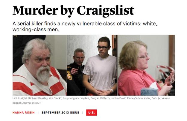 """Murder by Craigslist"" – The Atlantic"