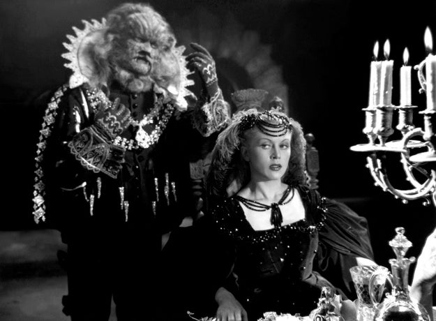 This beast, from the 1946 film La Belle et la Bête, has the exasperated look of a man who just wishes his wife would stop saying she's fine and tell him what's wrong...
