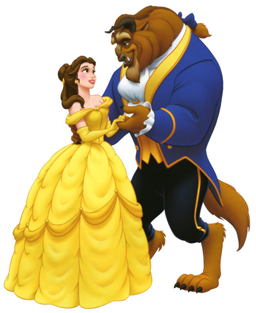 Since 1991, there has been a pretty common shared idea of what Belle and the Beast look like.