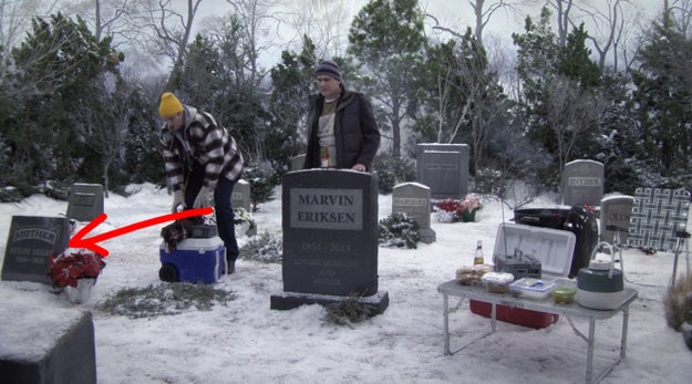 """This grave that reads """"Mother"""" may've been foreshadowing the series' ending."""