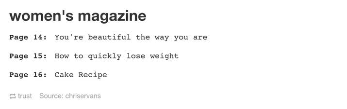 Tumblr Posts That Will Never Not Be Funny To Women - 16 tumblr posts about losing weight that are hilariously true