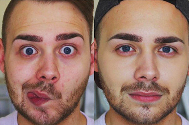20 �nomakeup� makeup tips every guy should know