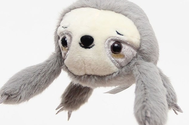 63c98c730 27 Adorable Gifts For People Who Love Sloths