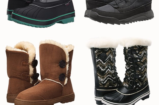 21 Of The Best Snow Boots You Can Get On Amazon