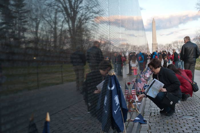 In 1980, when organizers of the Vietnam Veterans Memorial Fund were searching for a monument designer, they turned to the NEA's Council for the Arts, which funded a national competition to find one. Completed in 1982, Maya Lin's iconic, winning monument — a glossy, 247-foot black wall inscribed with the names of 58,307 soldiers who were killed or missing in action in the Vietnam War — is now one of the most popular memorials in Washington, DC, visited by over 3 million people each year.