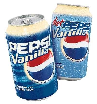 Original Pepsi Vanilla: