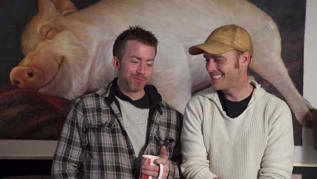 Meet Derek Walter (left) and Steve Jenkins (right). They live in Canada.
