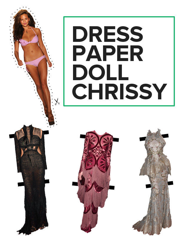 And dress your own Chrissy doll!