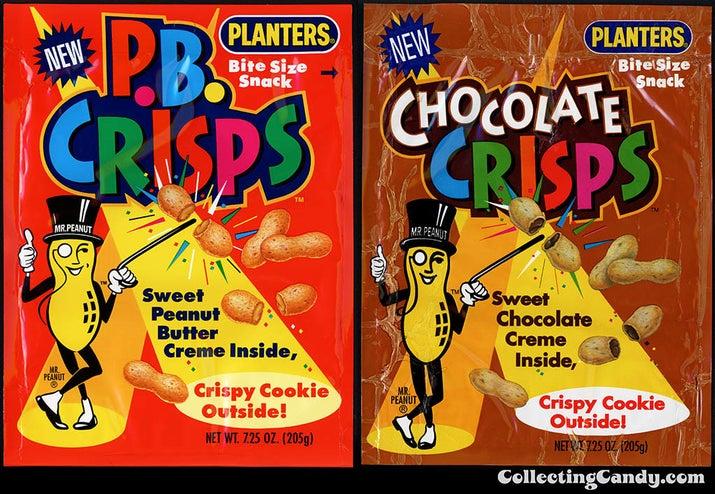 Mr. Peanut's crispy cousin has been gone since 1995.