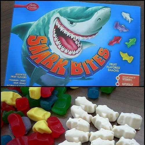 Okay, so you can still get Shark Bites on Amazon...but white sharks? They're long gone.
