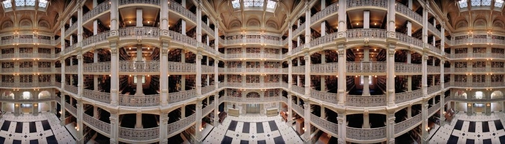 """360-Degree Photographs Invite You Inside America's Most Majestic Libraries"" — Huffington Post"