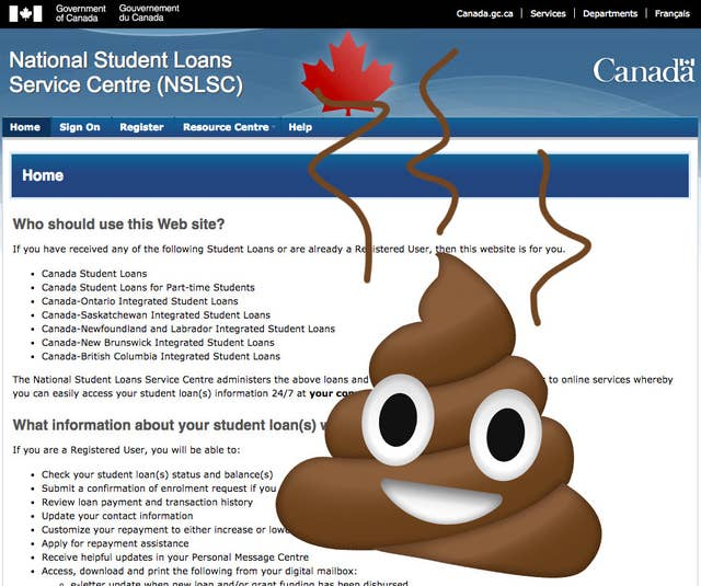 13 Reasons The Canada Student Loans Website Is Complete Garbage
