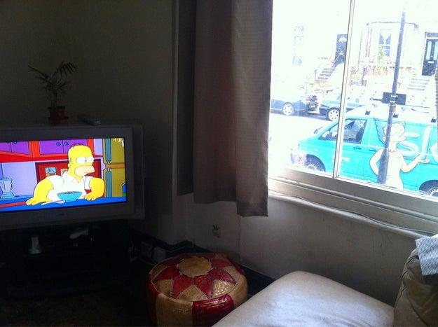 Cuando Homero y Marge se volvieron a encontrar...