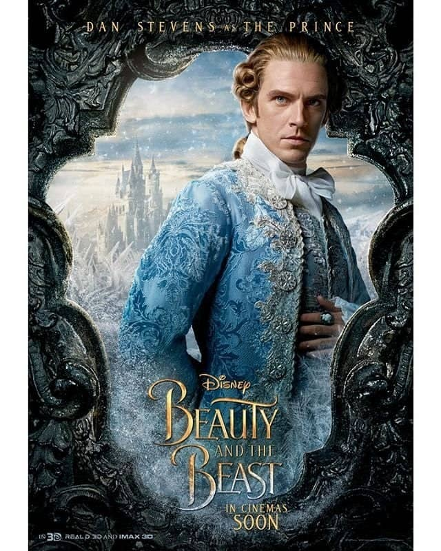 HEAR ME OUT This Is Dan Stevens Who Plays The Beast Prince And Here We Can See Him In His Perfectly Attractive Human Form