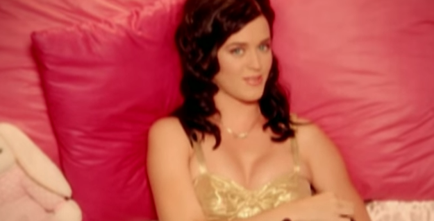 "Katy Perry's first hit song was ""I Kissed a Girl,"" but until now, she's denied that any girl-on-girl action actually ever took place."