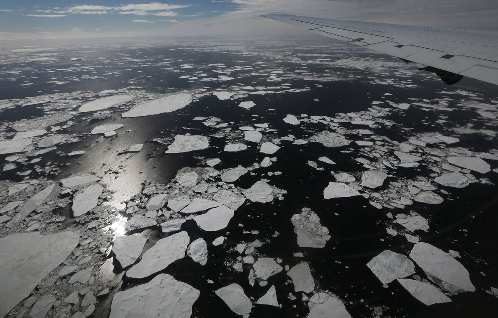 Antarctic Sea Ice Has Hit An All-Time Low