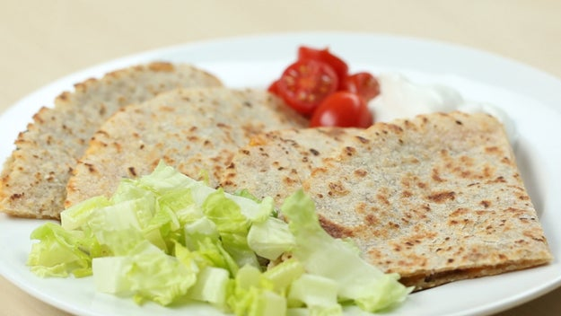 Dinner: Bean And Cheese Quesadilla