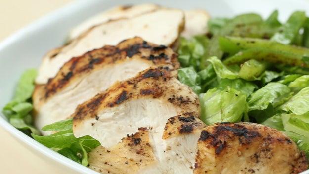 Lunch: Chicken And Veggie Salad