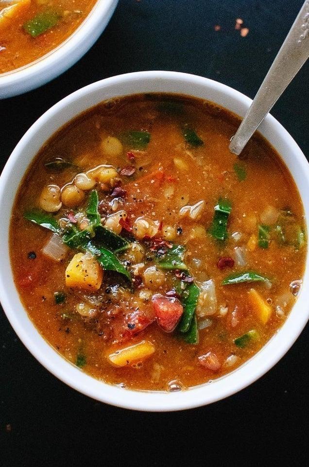 One-Pot Vegan Lentil Soup