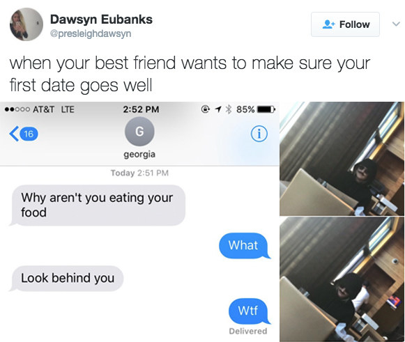 Bad dating advice funny tweet