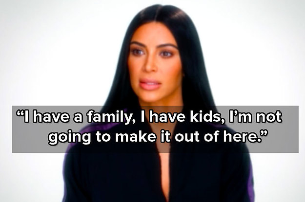 Kim Kardashian Spoke About Her Robbery For The First Time, And People Got Emotional