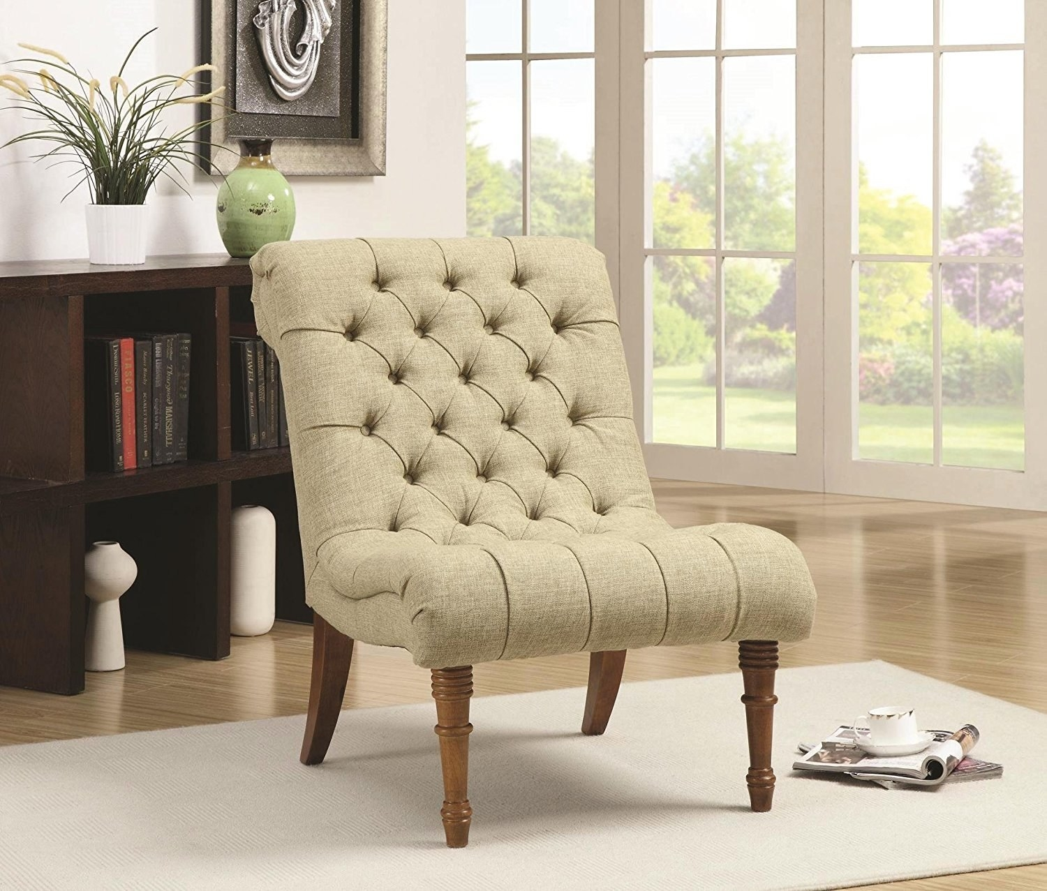 An Accent Chair For When You Need To Just Sit Down And Read A Good Book.